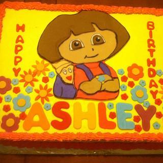 Dora the Explorer Cake - Cake by Vero