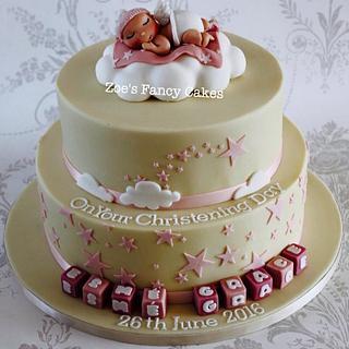 Baby Christening cake