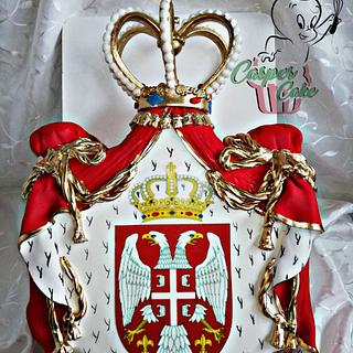 Royal coat of arms of Serbia