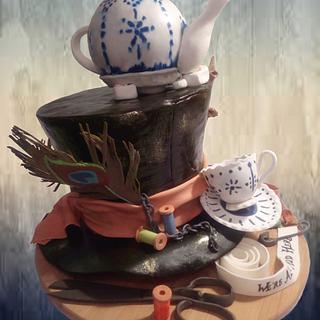 Madhatter cake - Cake by Elza