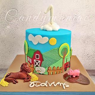 Little farm cake