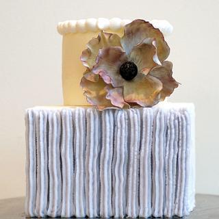 Modern Celebration Cake - Cake by Yvonne Janowski