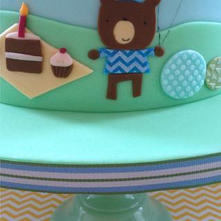 1st birthday cake - Cake by Hana Rawlings