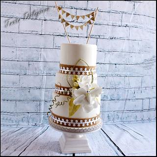 Just Married - Cake by Torta Deliziosa
