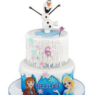 Frozen Icicle Cake