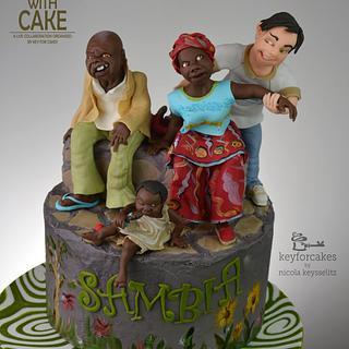 Help with cake - Charity cake