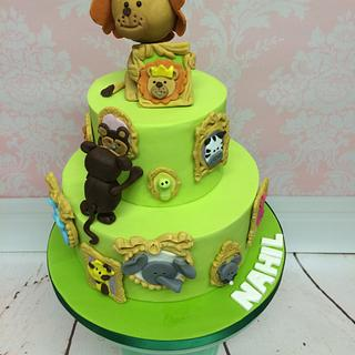 Another idea of Jungle Cake