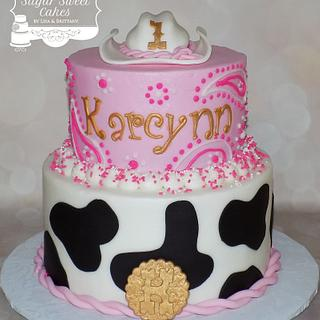 Cowgirl - Cake by Sugar Sweet Cakes
