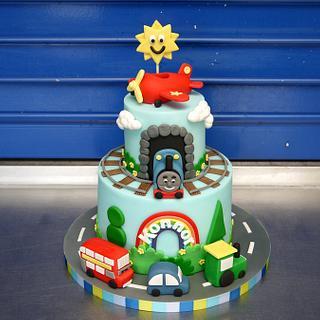 2nd Birthday Vehicle Cake!