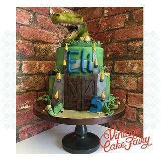 Jurassic World Cake - Cake by Vintage Cake Fairy