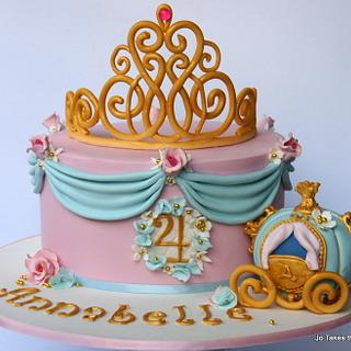 Pretty Princess - Cake by Jo Finlayson (Jo Takes the Cake)