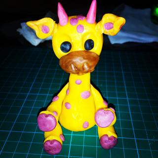 My Cute Yellow Giraffe
