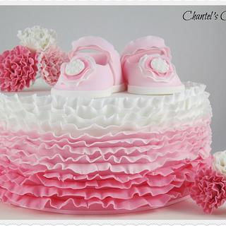 Ruffles and baby shoes