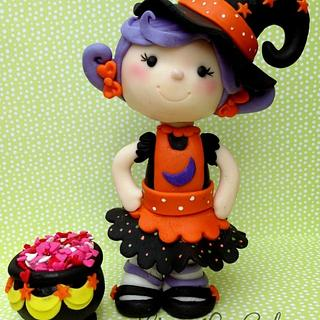 The cutest Witch!!!  - Cake by Joly Diaz