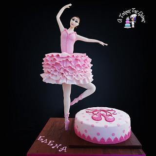 Ballerina (Gravity cake)