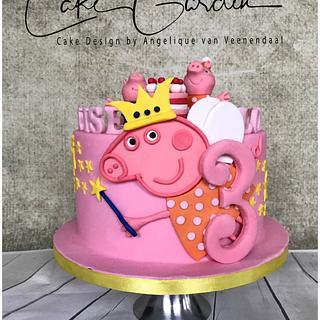 Peppa Pig cake - Cake by Cake Garden