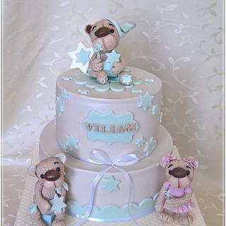 Christening cake for Viliam