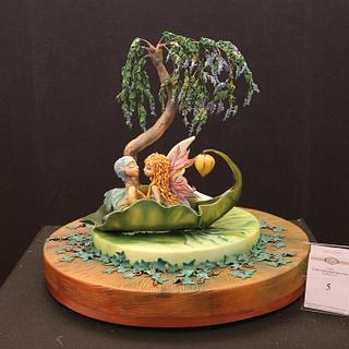 Wisteria Moon - Cake by  Le delizie di Kicca