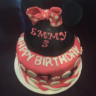 Minnie Cake - Cake by Cakes by Crissy