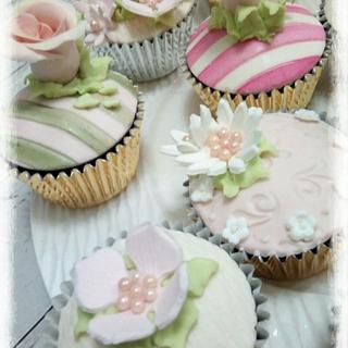 Roses Cupcakes vintages