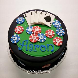 A Poker Cake for Aaron
