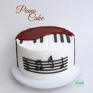 Torta Piano - Piano Cake