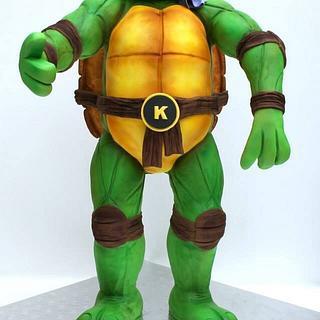 3D Teenage Mutant Ninja Turtle