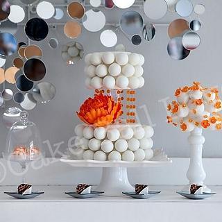 Cake Ball Cake-Photo Shoot with Laura Christin