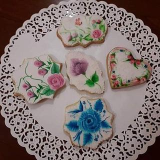 Painting cookies