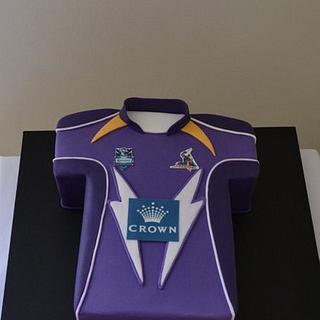 Melbourne storms birthday cake