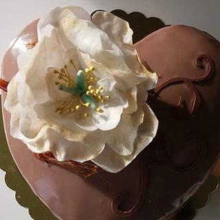 Heart cake