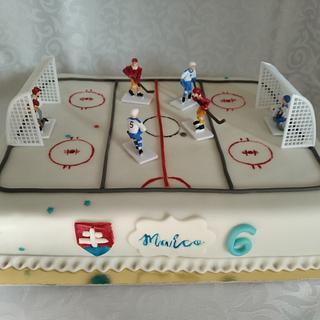 Hockey cake
