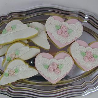 Lace Cookies - Cake by Cheryl