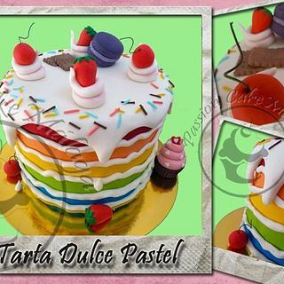 SWEET CAKE - DULCE PASTEL - Cake by Passion Cake Málaga