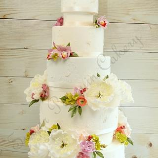 Natural Beauty - Cake by Ivone - Sugar Penguin Cakery