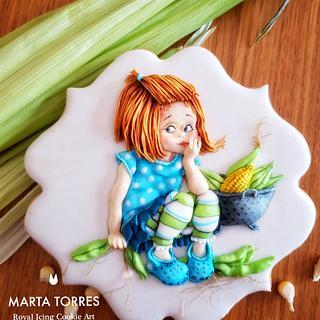 """A sweet  """"Corn Girl"""""""