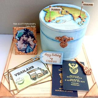 Love across Borders - Vintage Travel Case
