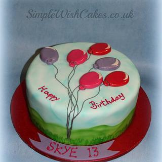 Birthday Cake Number 1!