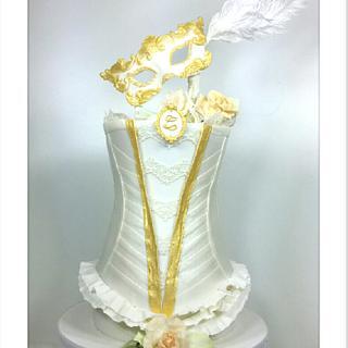 Masquerade in White