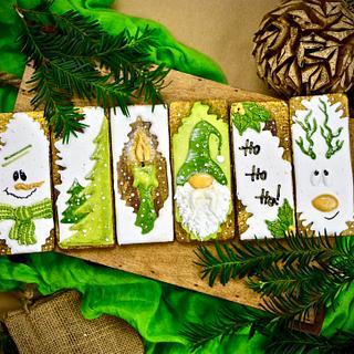 Christmas Cookies - Cake by Rodica Bunea