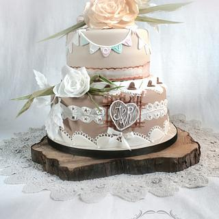 rustic country wedding <3