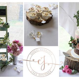 Wedding Cake - Cake by Zaneta Wasilewska