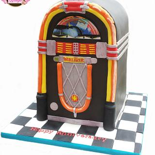 Wurlitzer Jukebox Cake