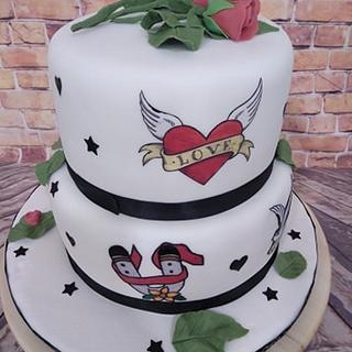tarta pintada
