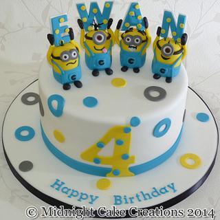 Fun Minion Cake