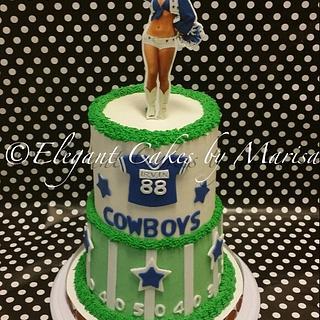 DALLAS COWBOYS BETTY BOOP - Cake by ECM