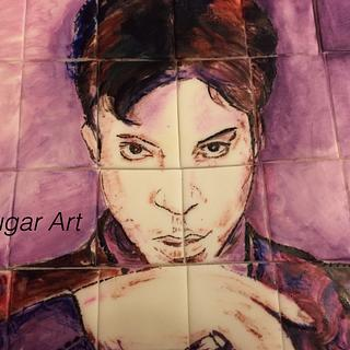 Purple Rain  - Cake by G Sugar Art