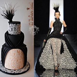 Couture Cakers International - Jean Paul Gaultier