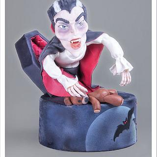 Dracula's Cake!