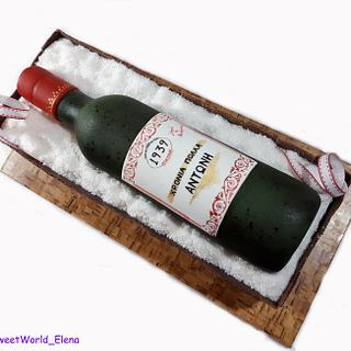 Wine bottle, Est.1939